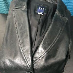 Gap leather jacket